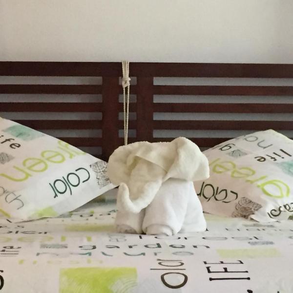 un lit bien douillet